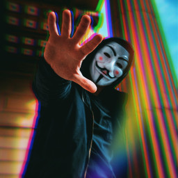 freetoedit colorful prism anonymous anonymousmask