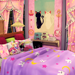 freetoedit 3d room emptyroom background house bedroom pink aesthetic girly