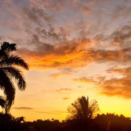sunset cloudsandsky skylover clouds cloudysky freetoedit