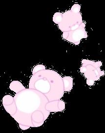 kawaii pink kawaiibear cute bear cutebear pastelpink freetoedit
