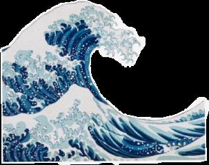 thewave blue aesthetic blueaesthetic cute 80s arthoe arthoeaesthetic aestheticblue ocean sea aestheticsea oceanaesthetic freetoedit
