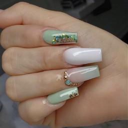 nails nailsdesign nailz green greennails nailswag nailsart nailspassion nailspolish nailsaddict nailsnailsnails nails2inspire