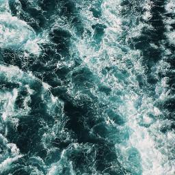 ocean sea water wave waves beach summer aesthetic blue beautiful freetoedit