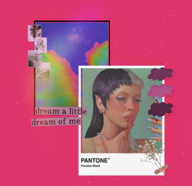 Melanie Martinez 🧚🏻♀️💖  • • •   #melaniemartinez #crybaby #k12 #k12album #k12tour #crybabytour #freetoedit #background #backgrounds #picifyher #mrspotatohead #blackandwhite #rainbow #pink #complexedit #overlay #overlays #complex #edit #fc #melaniemartinezedit #tiktok #copycat #cloudy #polarr