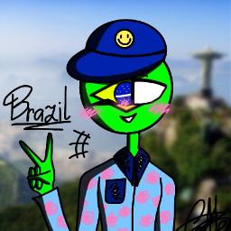 art brazilcountryhumans brazil countryhumans mydrawings myartstyle mystyle ch ilovech арт бразилиякантрихуманс бразилия кантрихуманс моирисунки мойартстиль мойстиль кх ялюблюкх