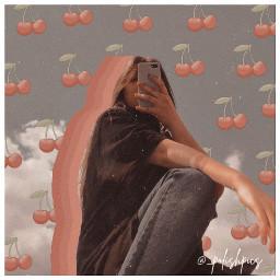 retro retrovibes vintage aesthetic cherries freetoedit