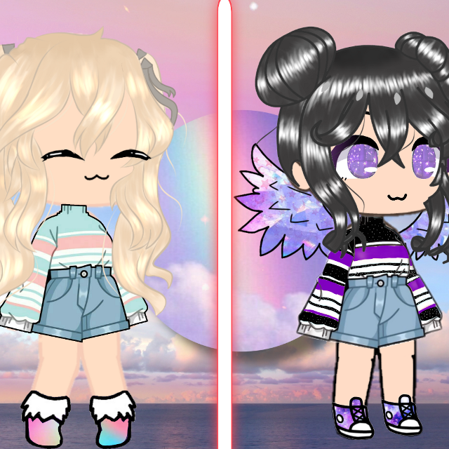 #freetoeditFor  @darkmatterstoo this pic is 2 of her oc's. P.S. do not edit dis post i need it to be non-edited