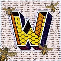 travelingstar challenge bee buzzz yellow honey freetoedit ecartisticalphabet artisticalphabet