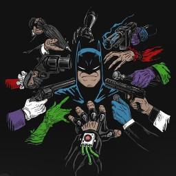 batman harlequinn joker harleyquinn gotham dc