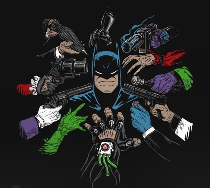 #batman #harlequinn #joker #harleyquinn #gotham #gothamcity #gothamcitysirens #gothamsirens #riddler #bilmececi #gothamfox #penguin #penguen #dc #darknight #mrfreeze #poisonivy #catwoman #posionivy