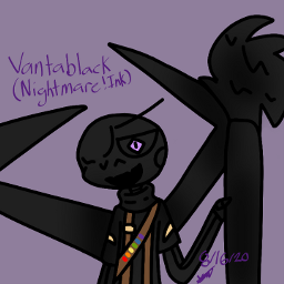 vantablack accidentverse nightmare!ink undertale undertaleaus undertaleau nightmare