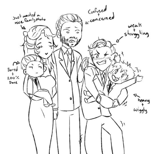 The Fowls family picture 😂 #artemisfowl
