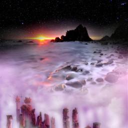 freetoedit myedit madewithpicsart landscape dreamscape nature fantasy