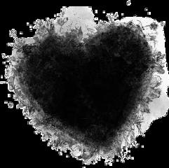 black blackheart🖤 love freetoedit blackheart