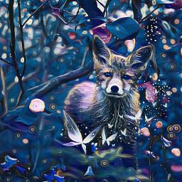 renard fox googlechrome france animal picsartpets nature freetoedit