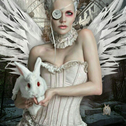 neonwings wings girl pretty corset rabbit whiterabbit bunny bunnyears ferriswheel grunge imagination myimagination stayinspired create creativity madewithpicsart freetoedit