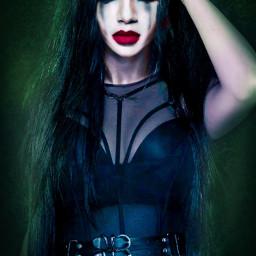 halloween sexywoman gotic angeldark