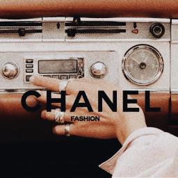 chanel chanelfashion fashion pretty aesthetic asthetic vintage radio music song songs channel designer