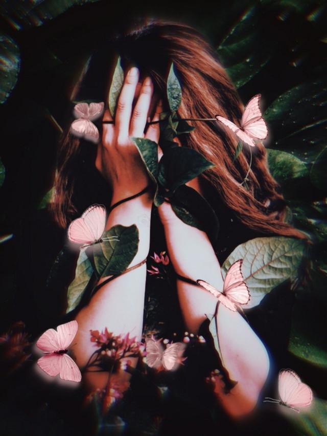 Good night 😊 #unsplash#leaves #myedit #madewithpicsart #creative #heypicsart #butterfly #butterflies #araceliss #makeawesome #picsarteffects