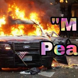 mostlypeaceful trump trump2020 alm riots truth backtheblue defendthepolice