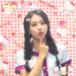 chaeyoung chaeyoungtwice edit kpop kpopedit softbot soft pink angel angelcore bloomcore cottagecore aesthetic picsart twice twiceedit indie chae tiktok messy icon iconsoft iconedit egirl cyber