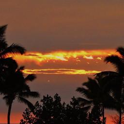 sunset hawaii fireinthesky pcgoldenhour goldenhour freetoedit