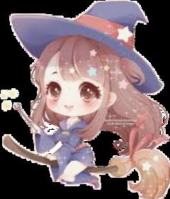 animegirl animewitchgirl animewitch sticker animestickers anime weeb weebshit freetoedit remixit