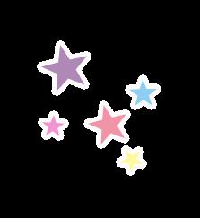 kawaii cute stars star freetoedit