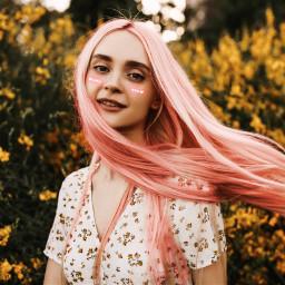 beautify pink blush haircolor haircolorchange hair fall fallseason