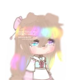 freetoedit kittyz kittyzedit art edit gacha gachaedit gachalife gachalifeedit gachalifeedits rainbow rainbowhair gachahair gachagirl aesthetic