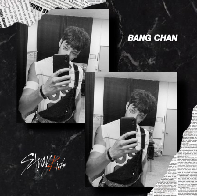 @k-pop_05 @nctinthehouse_05 @iwantramyeon  I hope you like this edit🖤 have a great day/night and stay healttthhyyy #straykids #bangchan #stay