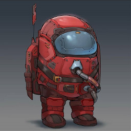 amongus crewmate imposter art cool realistic game meme astronaut real awesome