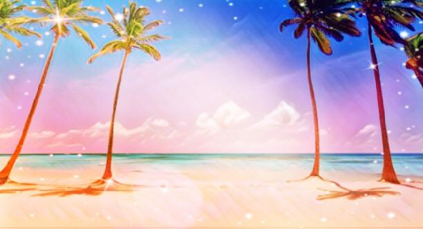 #beach #palmtrees ❤️❤️❤️