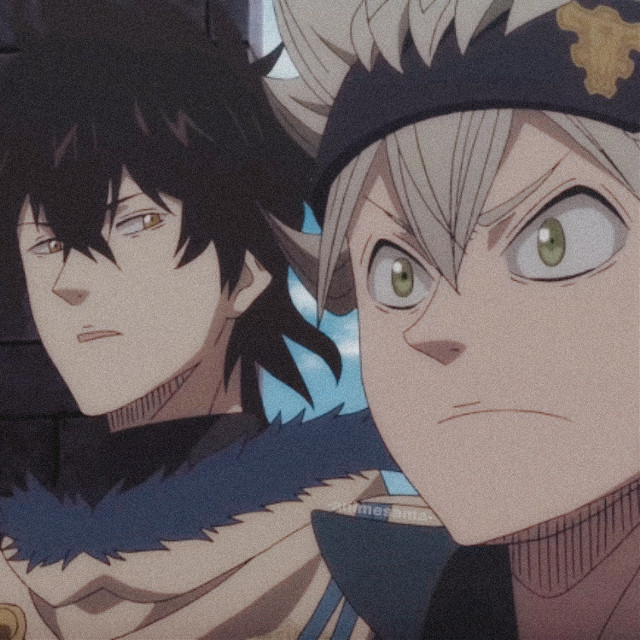 • • • Anime: Black Clover • Character: Asta and Yuno • • • Happy birthday to Asta and Yuno #blackclover #asta #yuno #duo #animeboy  #animeaesthetic #animeboys  #profilepic #profilepicture #anime #animeicon #icon #aesthetic #pfp #freetoedit