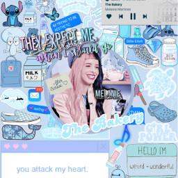 aestheticblue blue blueaesthetic aesthetic melanie martinez melaniemartinez afterschool thebakery