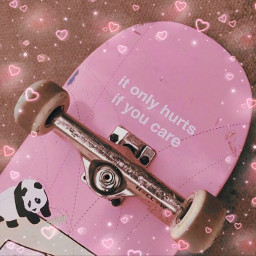 freetoedit remixit plzfollow freepfp aesthetic rainbow sparkle prettygirl teen glossy lips darling cute vsco girlart vogue richgirl pose skateboard pink skatergirl cool  if cool