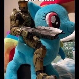 freetoedit meme brony mlprainbowdash halo halomastercheifcollection