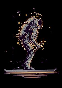astronaut freetoedit fstickers