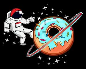 astronaut fstickers freetoedit surrealism