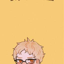 freetoedit wallpaper lyrics aesthetic yellow lemonboy cavetown haikyuu haikyuutsukishimakei anime