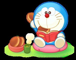doraemon read teatime freetoedit