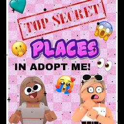thumpnail youtube secret places adoptme art donteditpls x enjoy roblox robloxgirl freetoedit