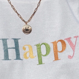 happy vsco aesthetic asthetuc pretty jewelry necklace colorful happydays goodvibes happiness
