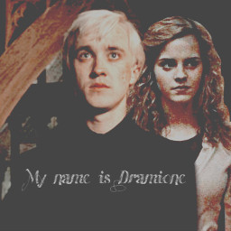 mionecandys dramione harrypotter dracomalfoy draco malfoy hermionegranger hermione granger