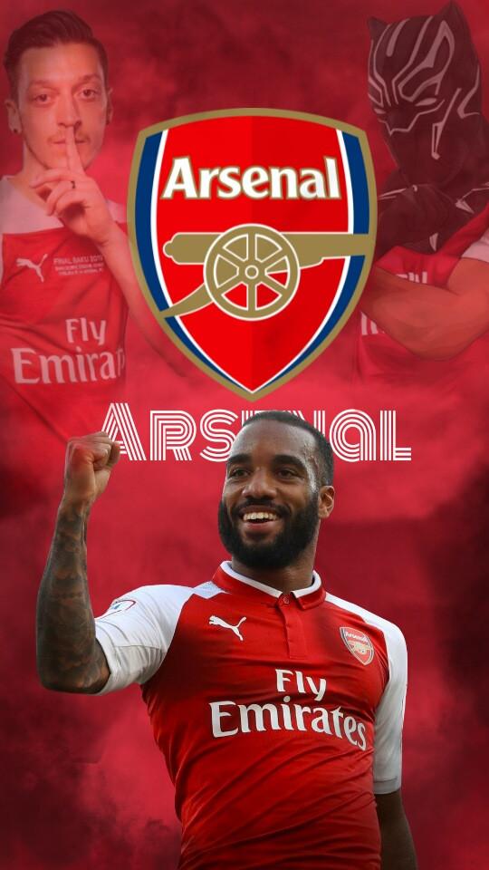 #Arsenal #ozil #Aubameyang #lacazette