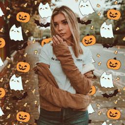 picsarthalloween halloween halloweenspirit emoji emojibackgrounds spooky halloweenemoji
