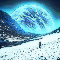 freetoedit madewithpicsart remixit planet snow winter mountains space sky galaxy universe hiking blue white atmosphere alienworld ice cold freeze frozen frost alone loneliness solitude
