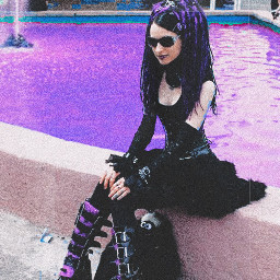 purple purpleaesthetic awsomeness aesthetictumblr aestheticedit aesthetic filter punk gothicaesthetic punkrockedit