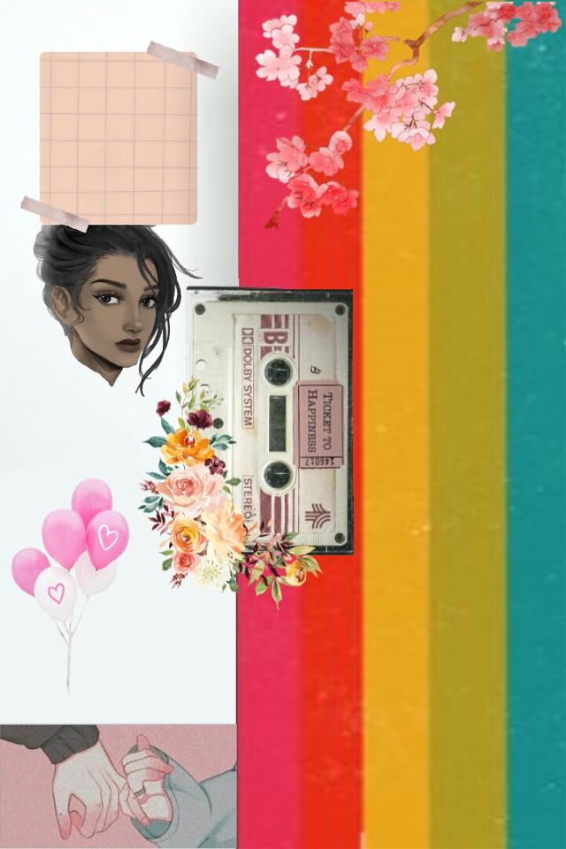 #freetoedit #flowers #poc #bipoc #people #human #women #woman #music #casette #balloon #balloons #note #notifs