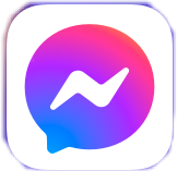messenger icon app freetoedit